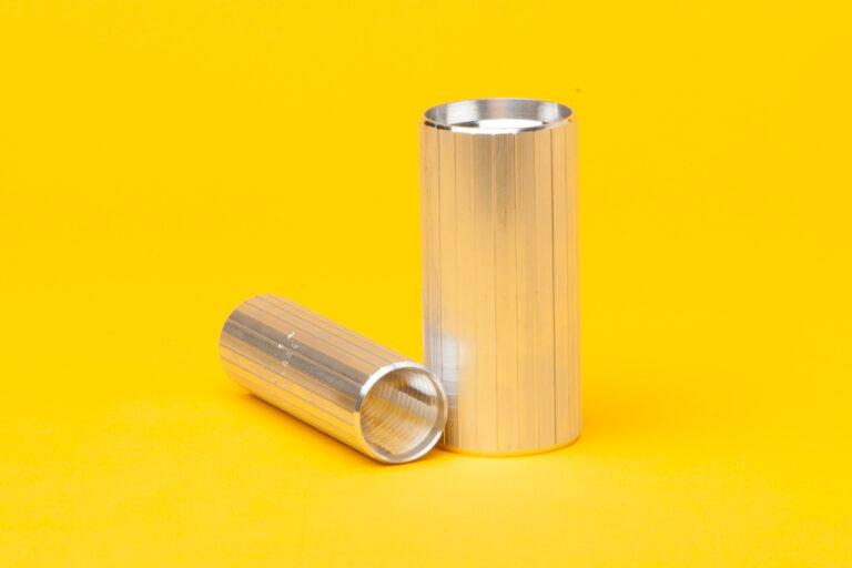 (ASB) Reverse Thread Barbed - Aluminum Coupler